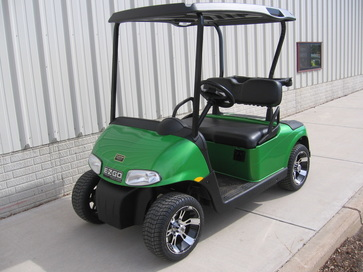 custom green e-z-go